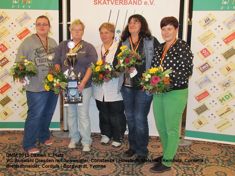 Skat Deutsche Mannschaftsmeisterschaft 2013 - Sieger Damen