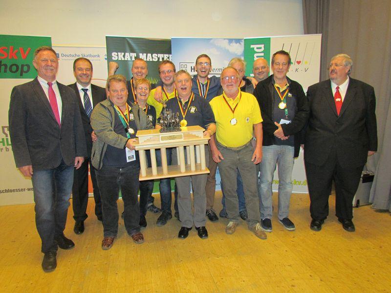 Skat Städtepokal Sieger Wismar 2014