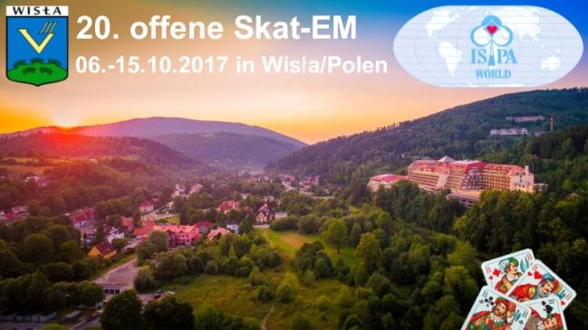 Ausschreibung Skat EM 2017